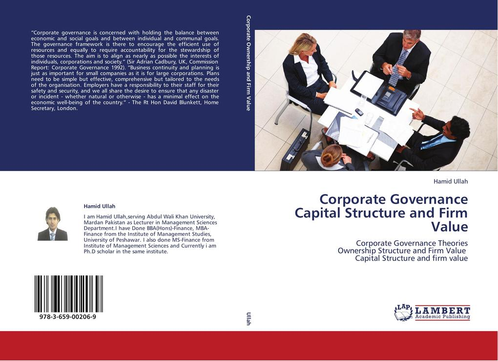 Corporate Governance Capital Structure and Firm...