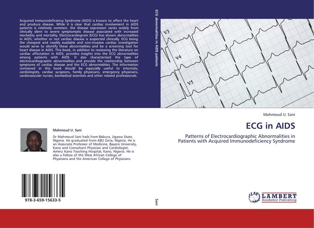 ECG in AIDS als Buch von Mahmoud U. Sani
