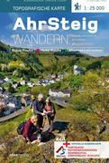 AhrSteig Wandern - Topografische Wanderkarte 1 : 25 000