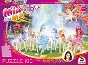 Centopias Einhörner, 100 Teile. Kinderpuzzle Mia & Me