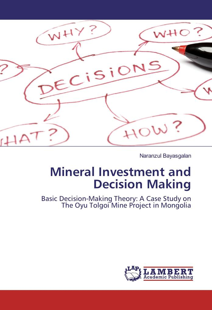 Mineral Investment and Decision Making als Buch...