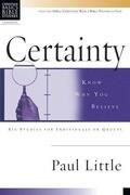 Certainty: Know Why You Believe