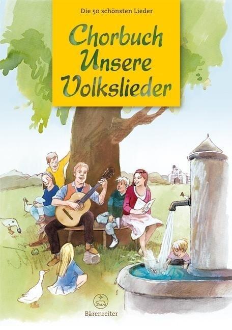 Chorbuch Unsere Volkslieder als Buch von