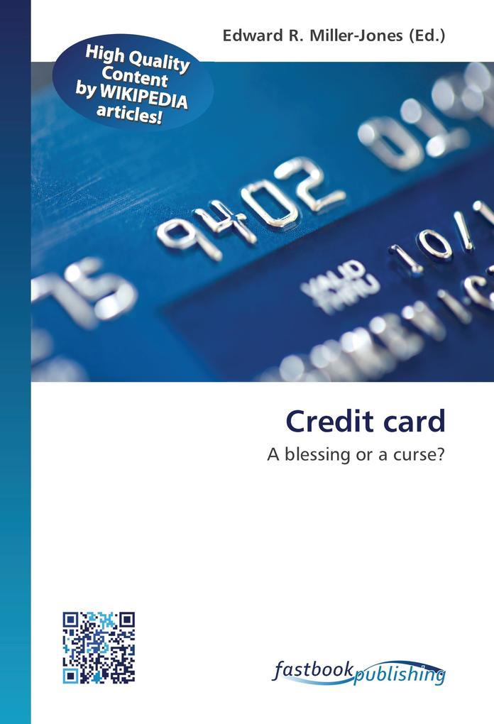 Credit card als Buch von