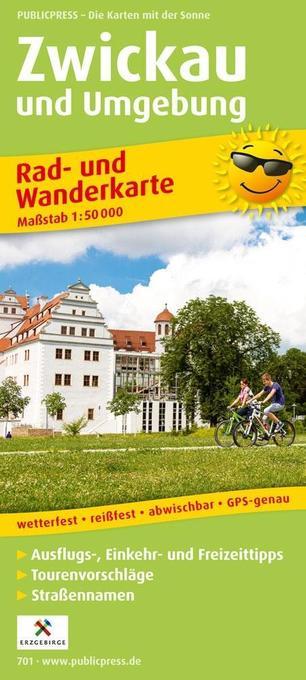 Zwickau und Umgebung 1 : 50 000 Rad- und Wander...