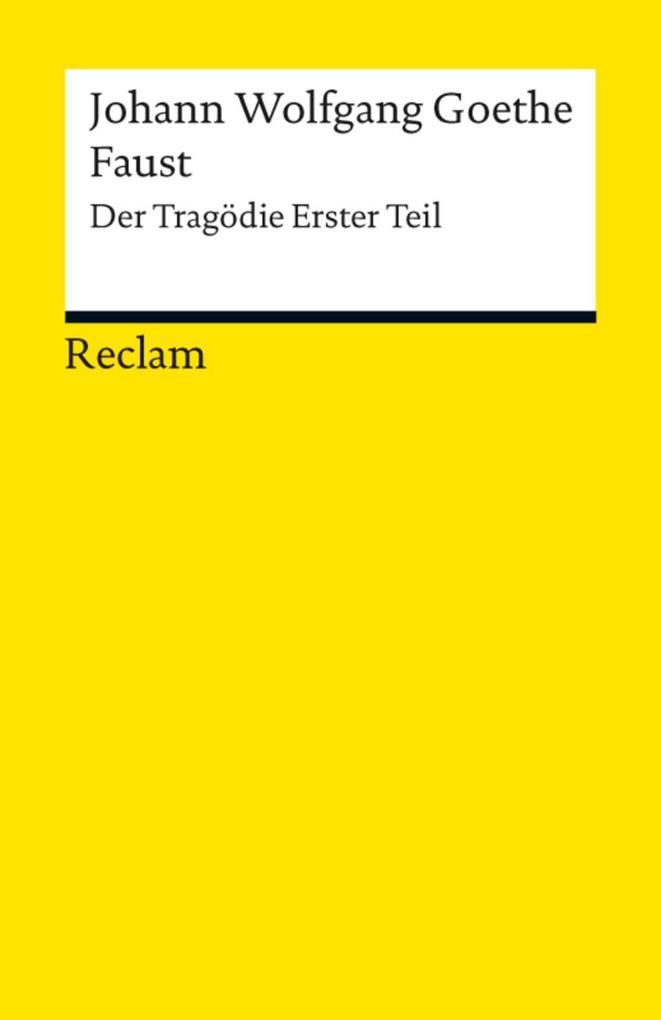 Faust. Erster Teil als eBook
