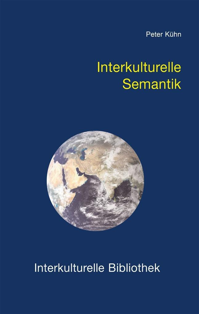 Interkulturelle Semantik als eBook Download von...