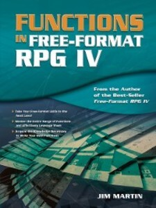 Functions in Free-Format RPG IV als eBook Downl...