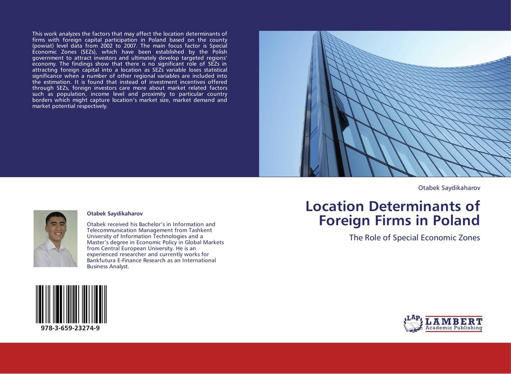 Location Determinants of Foreign Firms in Polan...