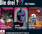 Die drei ??? Box 02. Folgen 4-6 (drei Fragezeichen) 3 CDs