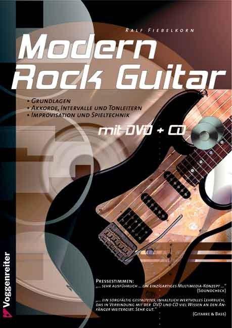 Modern Rock Guitar als Buch (gebunden)