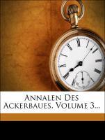 Annalen des Ackerbaues. als Taschenbuch von Alb...