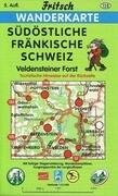 Südöstliche Fränkische Schweiz 1 : 35 000 Wanderkarte
