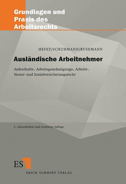 Ausländische Arbeitnehmer als Buch von Andreas ...