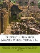 Friedrich Heinrich Jacobi's Werke, Erster Band