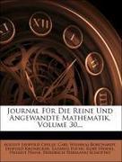 Journal für die reine und angewandte Mathematik, Dreissigster Band