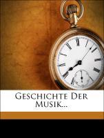 Geschichte der Musik, dritter Band als Taschenb...