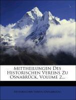 Mittheilungen des historischen Vereins zu Osnab...