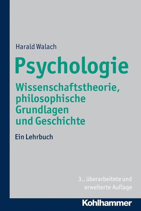 Psychologie als Buch von Harald Walach, Nikolau...