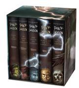 Percy Jackson: Percy-Jackson-Schuber 5 Bände - inkl. E-Book Kane-Chroniken Bd. 1