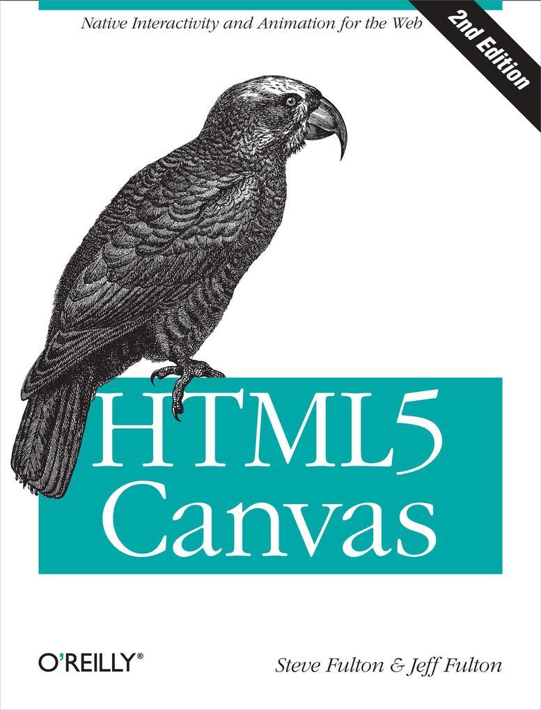 HTML5 Canvas als Buch von Steve Fulton