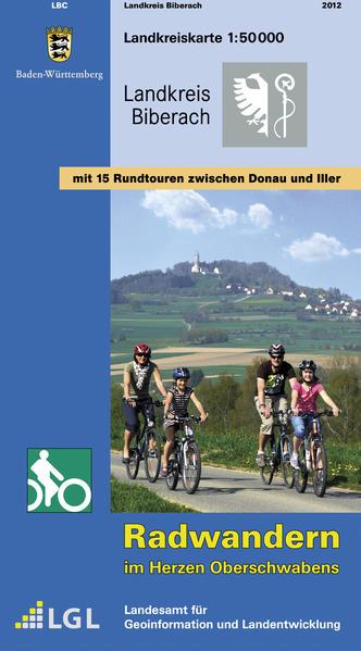LGL BW 50 000 Radkarte Landkreis Biberach/Riss ...