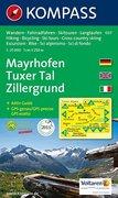 Mayrhofen / Tuxer Tal / Zillergrund 1 : 25 000