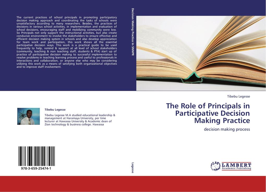 The Role of Principals in Participative Decisio...