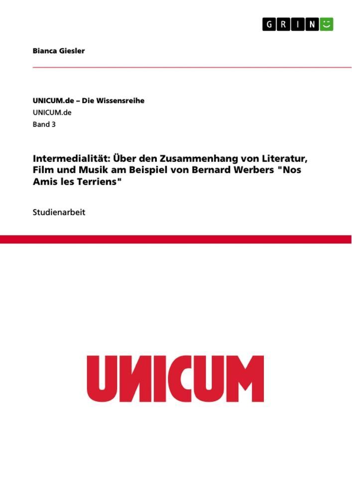Intermedialität: Über den Zusammenhang von Lite...