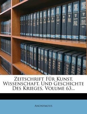 Zeitschrift für Kunst, Wissenschaft, und Geschi...