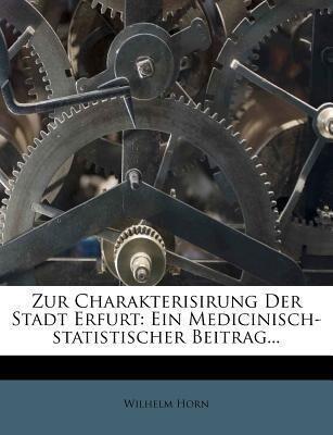 Zur Charakterisirung der Stadt Erfurt als Tasch...