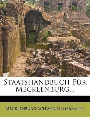 Grossherzoglich MecklenbuergSchwerinscher Staat...