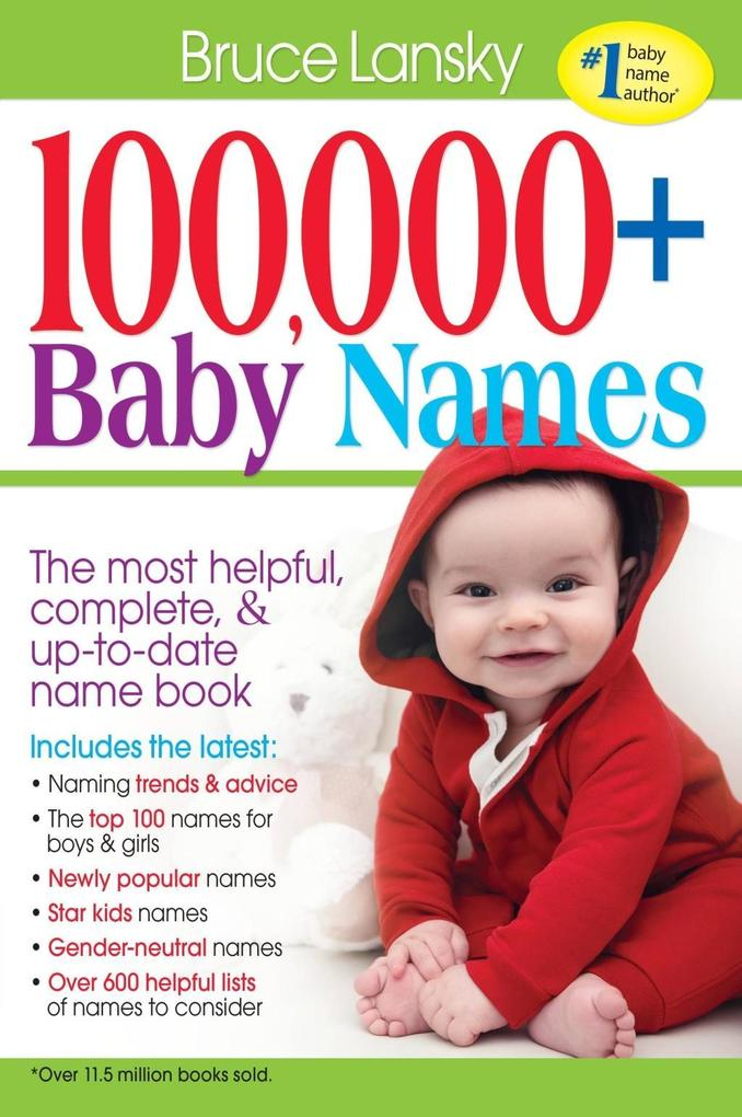 100,000 + Baby Names als eBook Download von