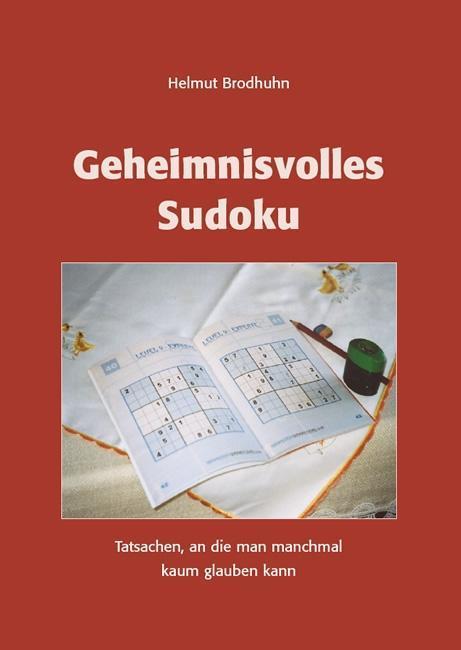 Geheimnisvolles Sudoku als Buch von Helmut Brod...