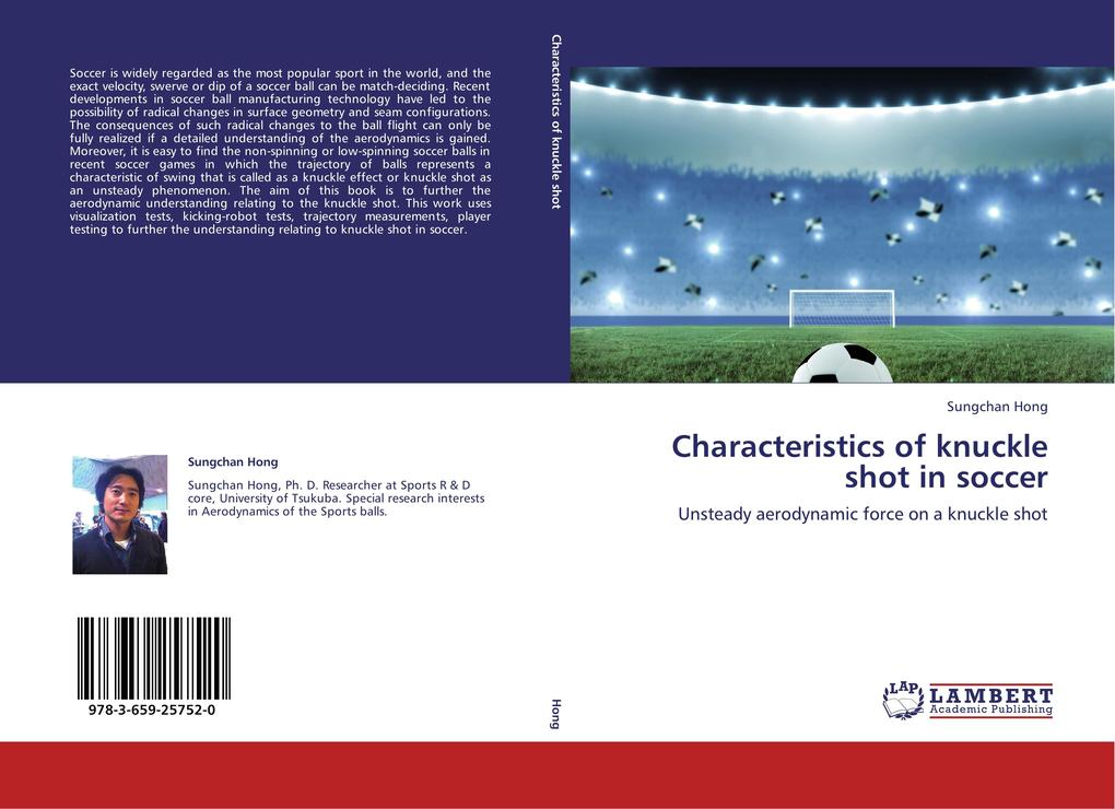 Characteristics of knuckle shot in soccer als B...