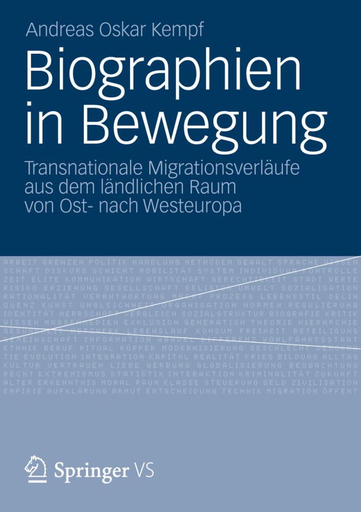 Biographien in Bewegung als Buch (kartoniert)