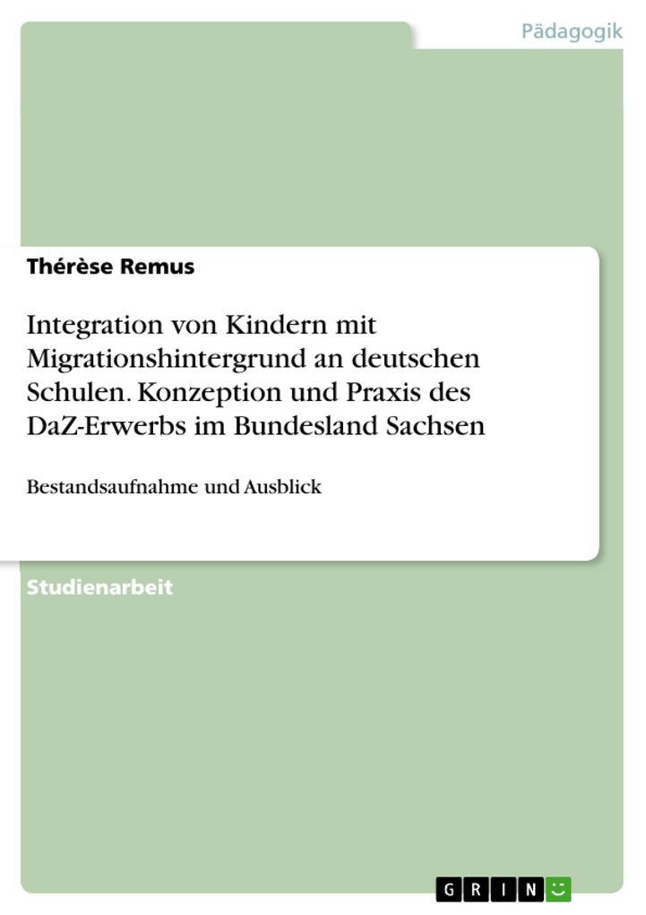 Integration von Kindern mit Migrationshintergru...