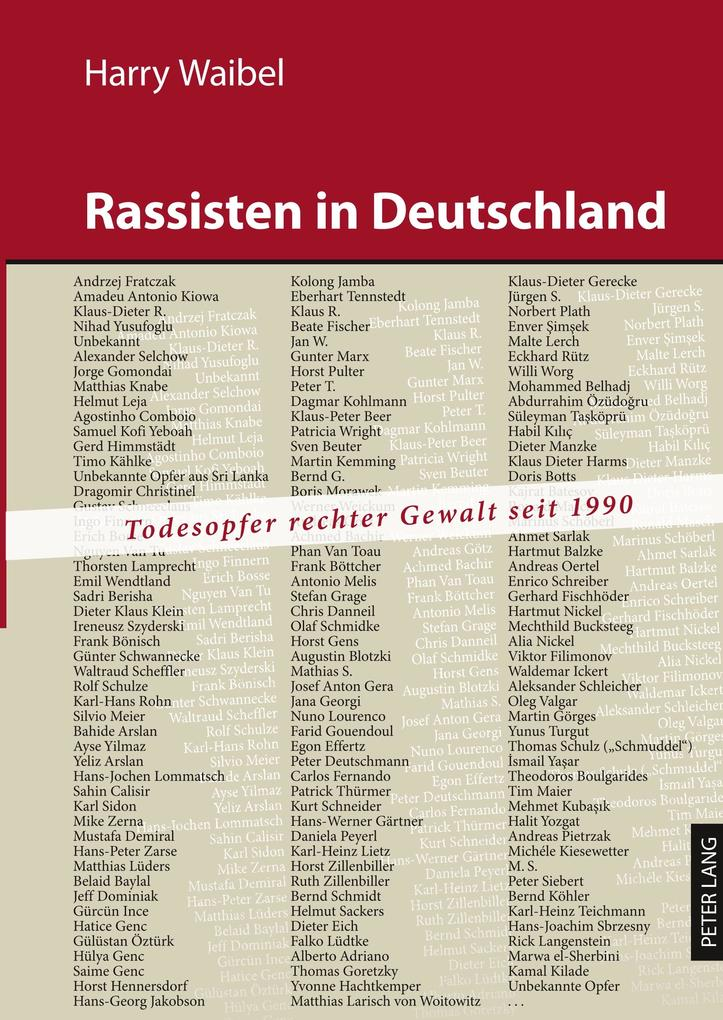 Rassisten in Deutschland als Buch