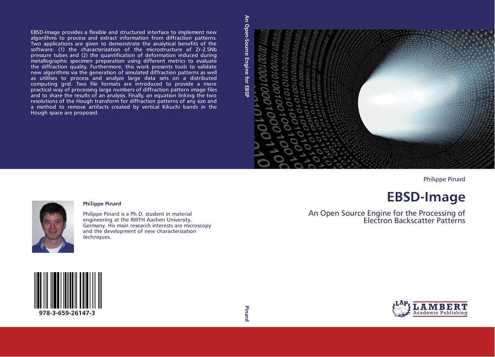 EBSD-Image als Buch von Philippe Pinard