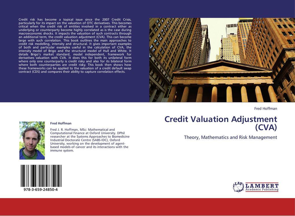 Credit Valuation Adjustment (CVA) als Buch von ...