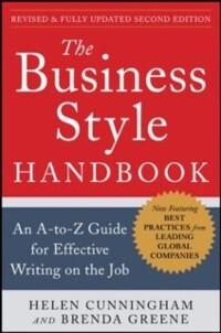 Business Style Handbook, Second Edition: An A-t...