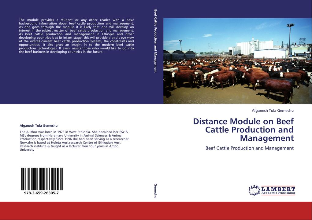 Distance Module on Beef Cattle Production and Management als Buch (kartoniert)