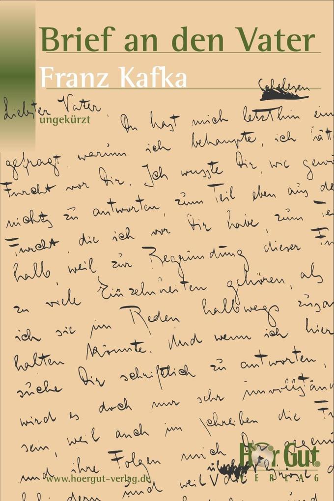 Brief an den Vater als eBook