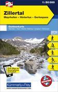KuF Österreich Outdoorkarte 09 Zillertal 1 : 50 000