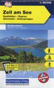 KuF Österreich Outdoorkarte 11 Zell am See 1 : 35 000