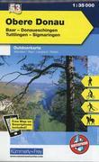 KuF Deutschland Outdoorkarte 53 Obere Donau 1 : 35 000
