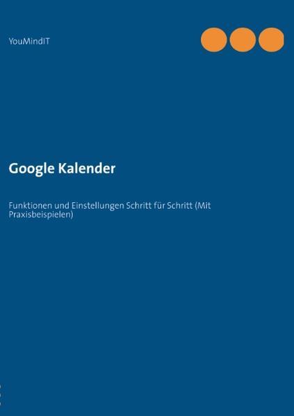 Google Kalender als Buch von