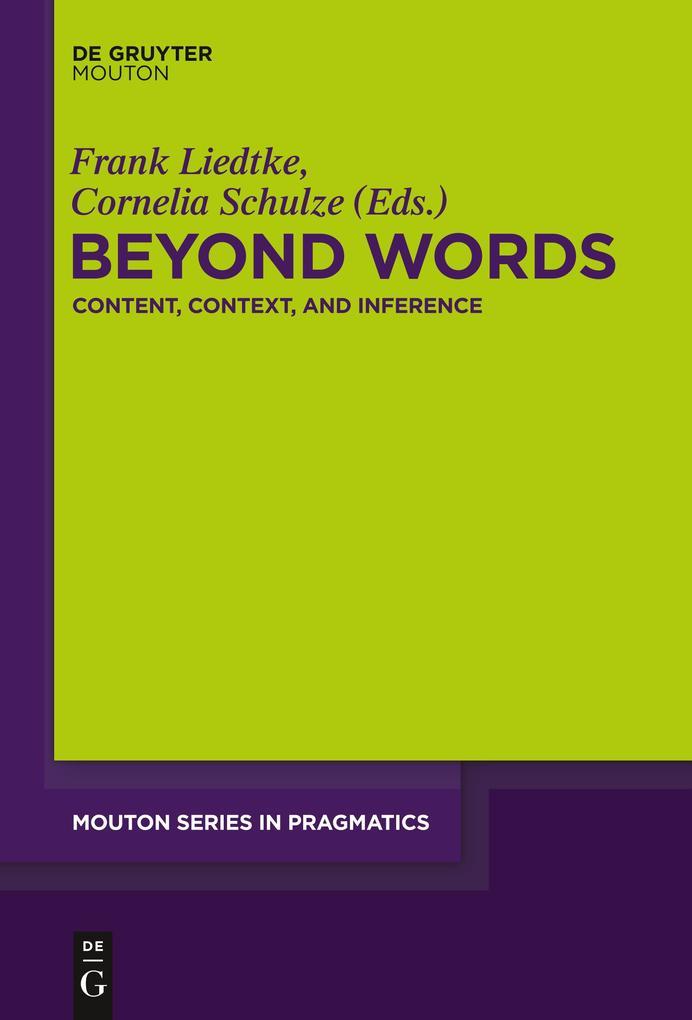 Beyond Words als Buch von