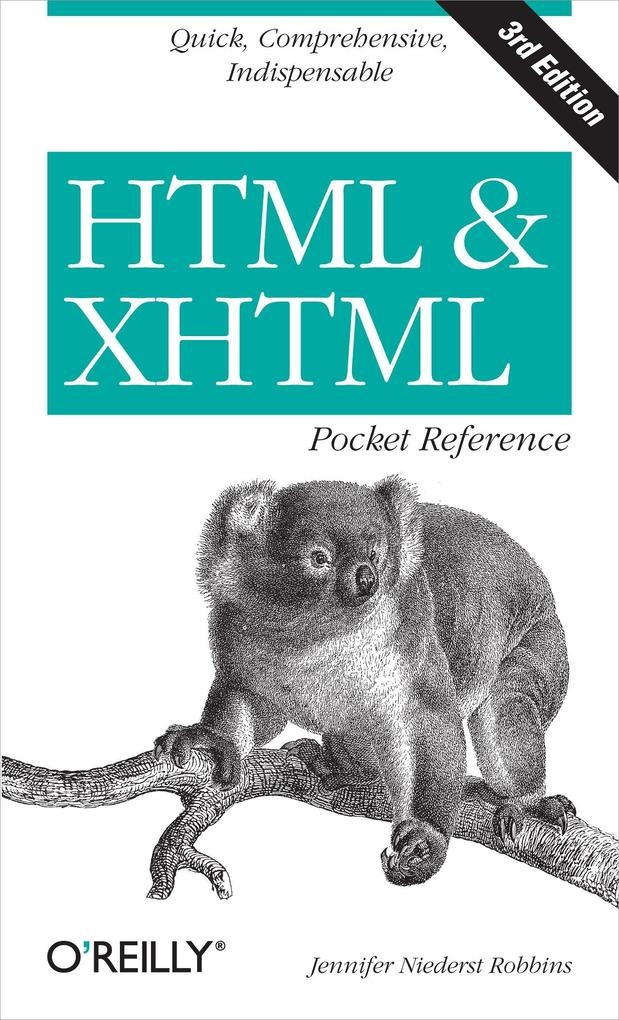 HTML and XHTML Pocket Reference als eBook Downl...