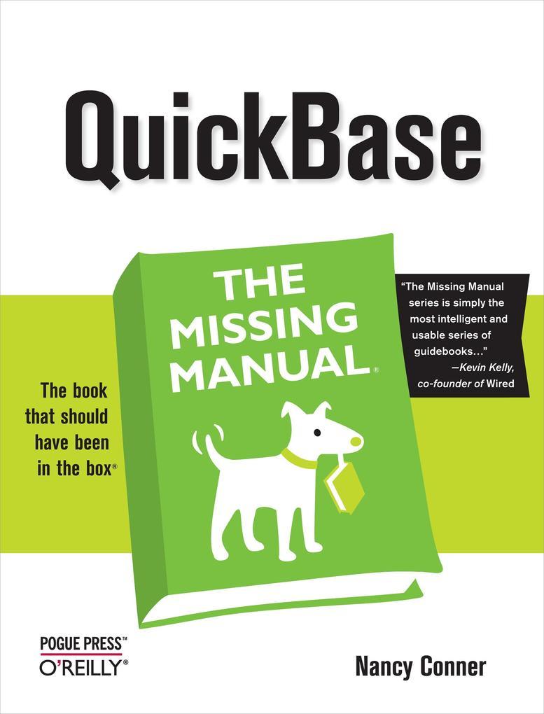 QuickBase als eBook Download von Nancy Conner